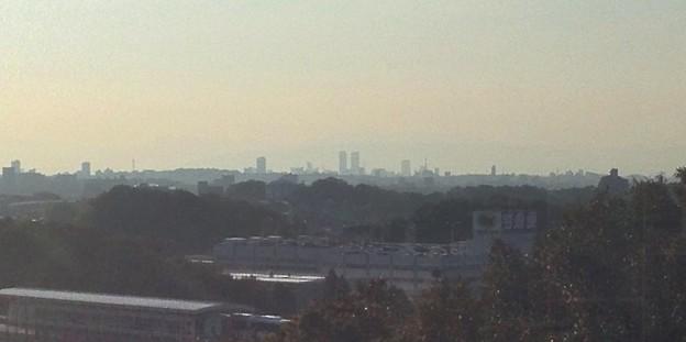 写真: 愛・地球博記念公園:観覧車内から見えた名古屋市内のビル群 - 2