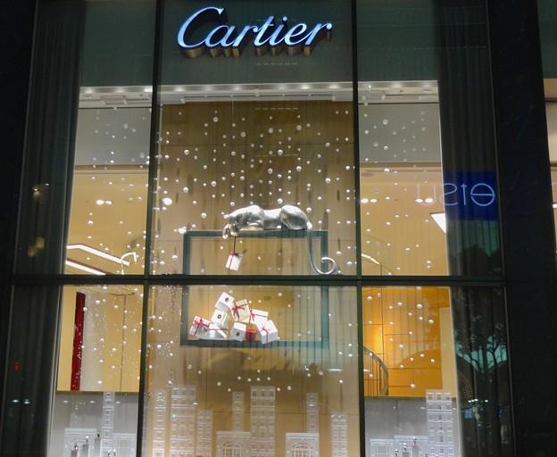 Photos: カルティエ名古屋ミッドランドスクエア店の可愛らしいクリスマス・ディスプレイ - 2