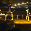 写真: 東山植物園 紅葉ライトアップ 2013:フラワーステージ前での野外コンサート No - 4