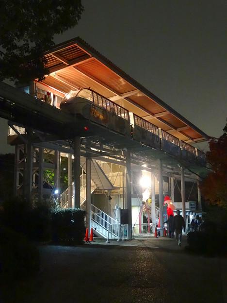 夜のスカイビュートレイン「植物園駅」 - 2
