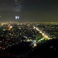 写真: 東山スカイタワーから見た夜景 No - 15:広小路通と名駅・栄方面