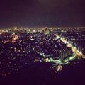 写真: 東山スカイタワーから見た夜景 No - 44:広小路通と名駅・栄方面