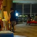 写真: 夜の東山スカイタワー展望階(5階) - 2