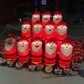 アスナル金山のクリスマス・イルミネーション 2013 No - 41:合唱するように並べられた「トントゥ」