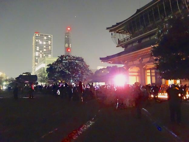 東別院の大晦日 2013 No - 27:D-K Live デジタル掛け軸
