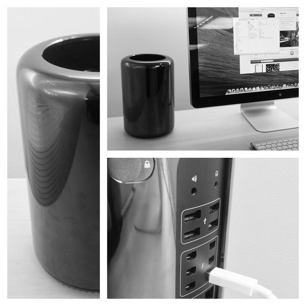 新型Mac Pro No - 7:モノクロ