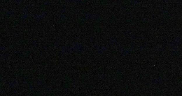冬の夜空に輝く、北斗七星 No - 2