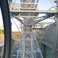 写真: スカイボートから見た景色 No - 122:観覧車の軸(側面)