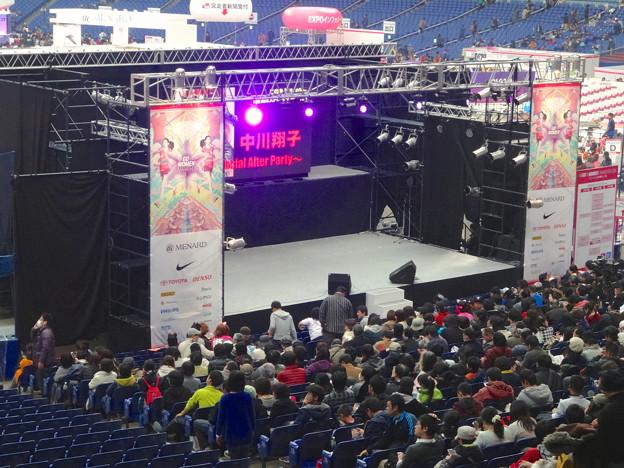 マラソン EXPO 2014 No - 09:中川翔子さんのコンサートを待つ人々