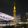 写真: オアシス21から見た、夜の名古屋テレビ塔 - 07