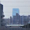 写真: 春日井東部から見えたルーセントタワー