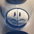 写真: カメの顔のような、オイルヒーターのスイッチ - 1