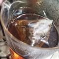 写真: 残暑の候。冷茶もお湯出しの渋味が旨い。