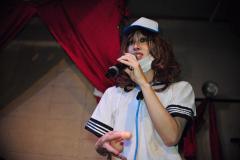 写真: 松沢病院脱走直後の廃いゆー子