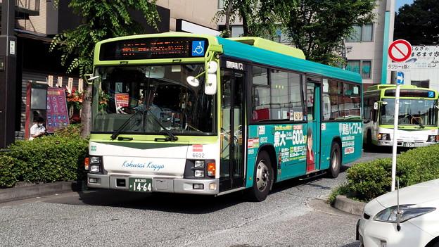 6632号車 [赤51]池袋駅東口 ゆき