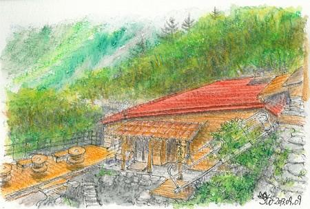 20130909岳沢小屋
