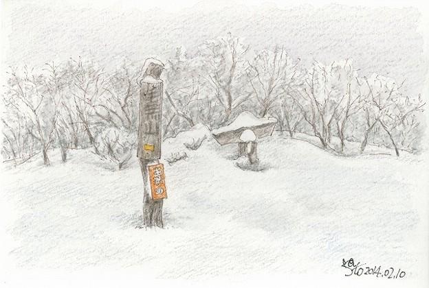Photos: 20140210毛無山山頂