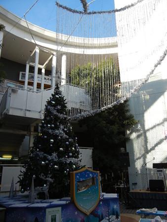 コクーンのクリスマスツリー