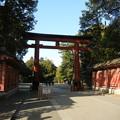 氷川神社の三ノ鳥居