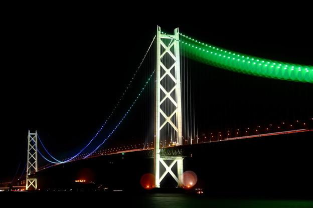 明石海峡大橋の玉暈けII