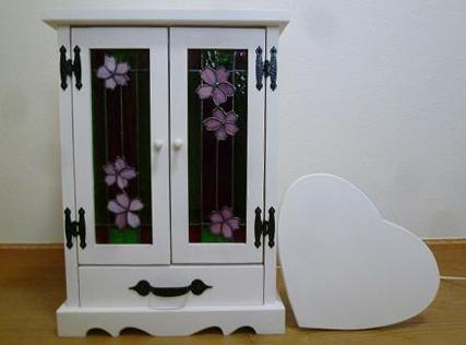 ステンドグラス 桜