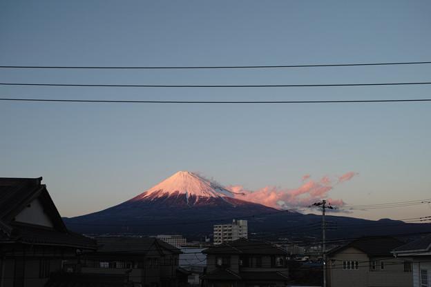 Photos: 12月31日の富士山