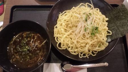 海老名 黒酢つけ麺