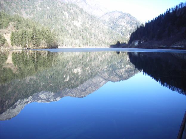 九寨溝の湖水