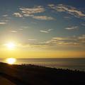 Photos: 120915-01駿河湾からの朝日