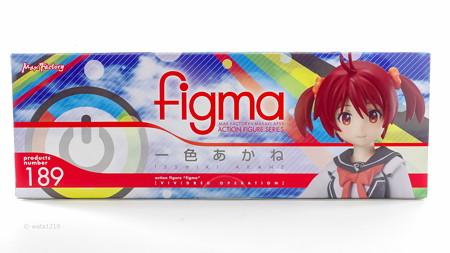 figma一色あかね 箱下面