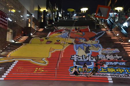 ポケモンの巨大宣伝@京都駅 [8/20]