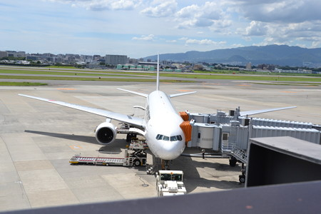 ボーイング737-400(JA8992)@大阪国際空港 [8/23]
