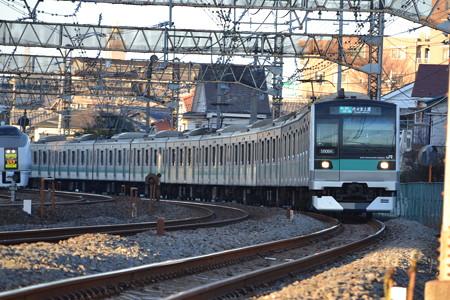 E233系2000番台×651系@馬橋-北松戸 [1/27]