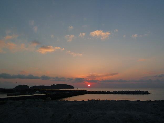今日の夕陽♪