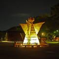 Photos: 立つ人・夜315c