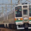 高崎線 130周年HM 211系貴重な存在になりました