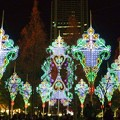 神戸ルミナリエ・2012「光の絆」 光の戯れ