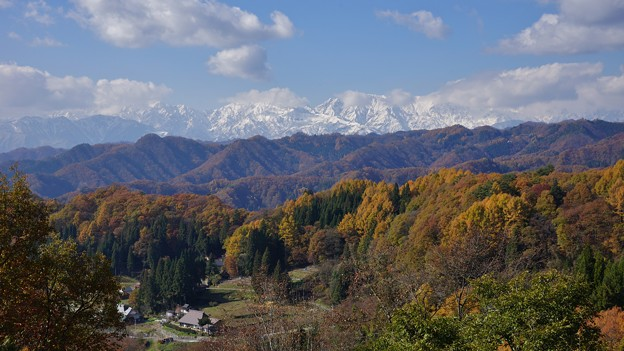 小川村晩秋から初冬へ。