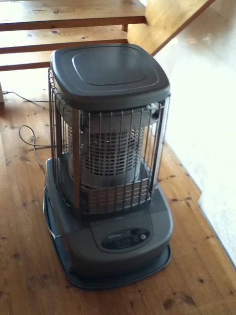 我が家の主力暖房器具