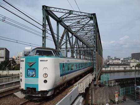 381系特急くろしお 大阪環状線大正駅
