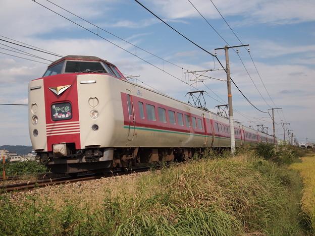 381系特急やくも(山陽本線庭瀬~中庄)