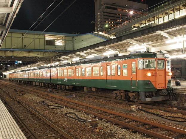 113系湘南色 広島駅