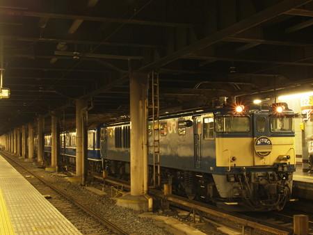 寝台特急あけぼの 上野駅