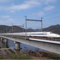 Photos: N700系のぞみ 吉井川