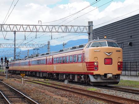 あいづライナー(磐越西線会津若松駅)