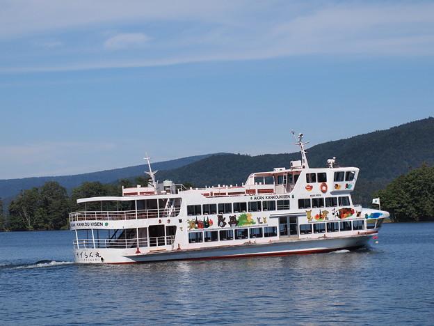 阿寒湖の観光船