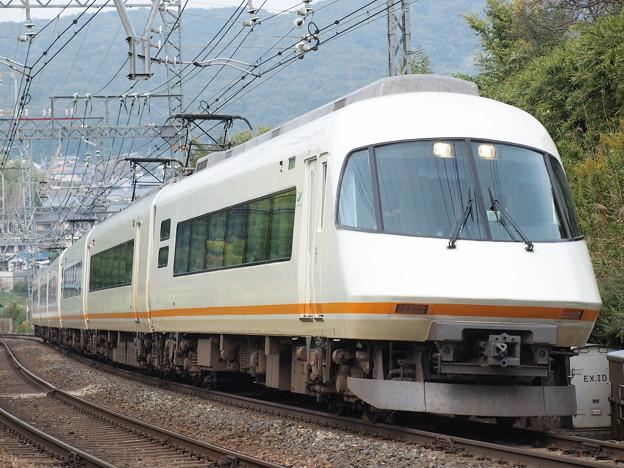 近鉄21000系名阪甲特急アーバンライナー 近鉄大阪線関屋~二上S字カーブ