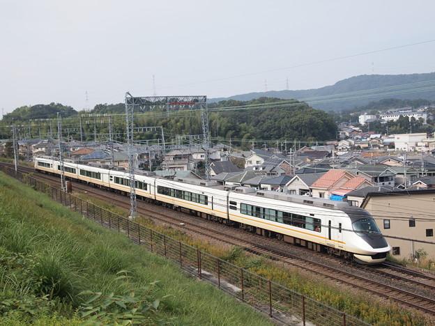 近鉄21020系名阪甲特急アーバンライナーnext 近鉄大阪線関屋~二上俯瞰アングル
