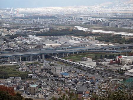 N700系のぞみ 東海道新幹線京都~新大阪3