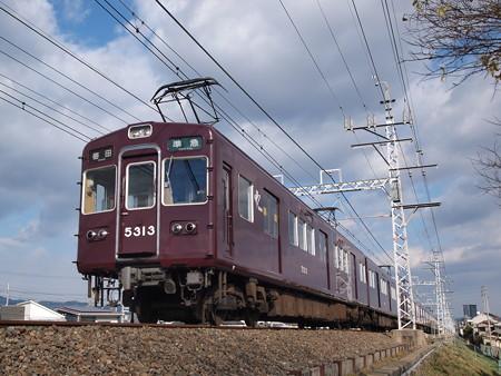 阪急5300系準急 阪急京都線高槻市~富田